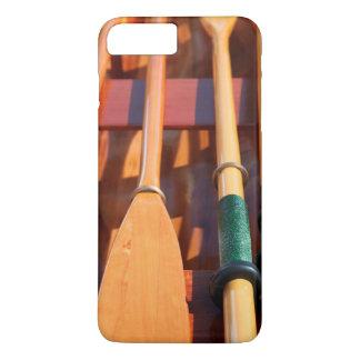 Coque iPhone 8 Plus/7 Plus Port Townsend, festival en bois de bateau