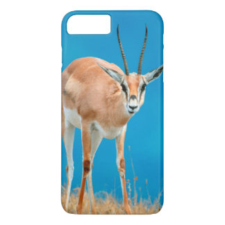Coque iPhone 8 Plus/7 Plus Portrait de brebis de la gazelle de Grant (Gazella