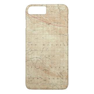Coque iPhone 8 Plus/7 Plus Quadrilatère de Mt Pinos montrant la crevasse de