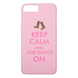 Coque iPhone 8 Plus/7 Plus Rayez l'iphone de danse 7 bottes de cowboy de