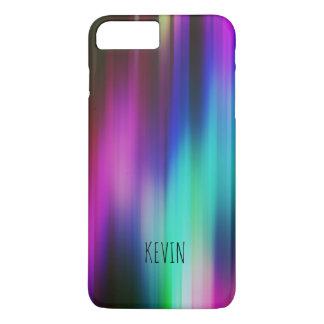 Coque iPhone 8 Plus/7 Plus Rayons abstraits de couleurs lumineuses