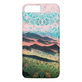 Coque iPhone 8 Plus/7 Plus Région sauvage de montagne assez de Bohème
