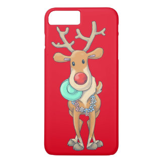 Coque iPhone 8 Plus/7 Plus reindeer_xmas