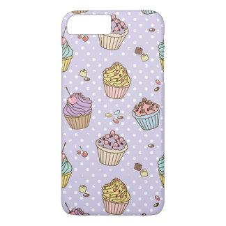Coque iPhone 8 Plus/7 Plus Rétro motif de bonbons