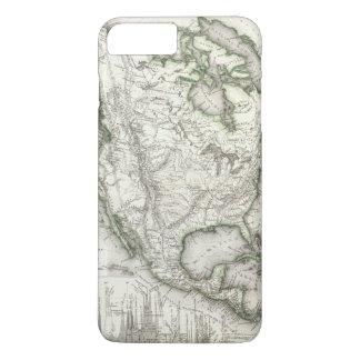 Coque iPhone 8 Plus/7 Plus Rivières et montagnes nord-américaines