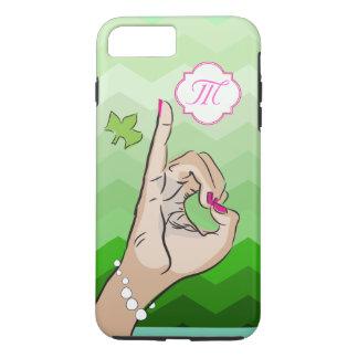 Coque iPhone 8 Plus/7 Plus Rose et vert de la vie de sororité