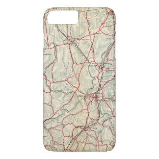 Coque iPhone 8 Plus/7 Plus Routes de bicyclette à New York et Connecticut 12