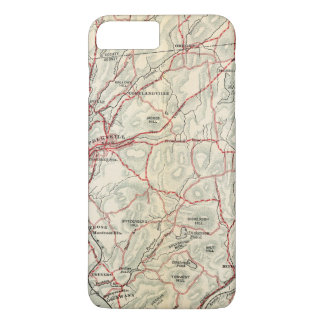 Coque iPhone 8 Plus/7 Plus Routes de bicyclette à New York et Connecticut 2