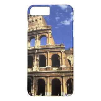 Coque iPhone 8 Plus/7 Plus Ruines célèbres du Colisé à Rome Italie