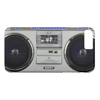 Coque iPhone 8 Plus/7 Plus Sableuse Boombox de ghetto