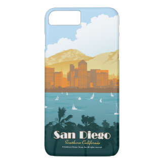 Coque iPhone 8 Plus/7 Plus San Diego, CA