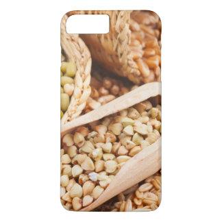 Coque iPhone 8 Plus/7 Plus Sarrasin, blé, avoine et Mung verts - céréale