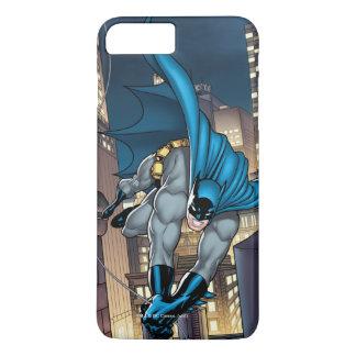 Coque iPhone 8 Plus/7 Plus Scènes de Batman - balançant bas