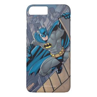 Coque iPhone 8 Plus/7 Plus Scènes de Batman - pendant du rebord
