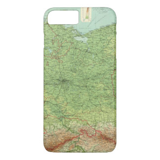 Coque iPhone 8 Plus/7 Plus Section orientale de l'Allemagne