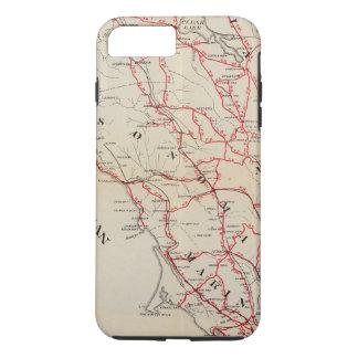Coque iPhone 8 Plus/7 Plus Sonoma, Marin, lac, et comtés de Napa
