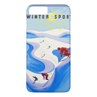 Coque iPhone 8 Plus/7 Plus Sports d'hiver