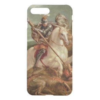 Coque iPhone 8 Plus/7 Plus St George massacrant le dragon, (huile sur le