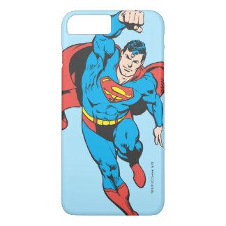 Coque iPhone 8 Plus/7 Plus Superman a laissé le poing augmenté