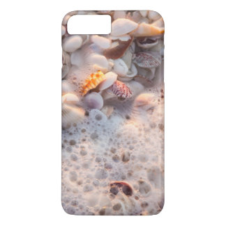 Coque iPhone 8 Plus/7 Plus Surf et coquillages entrants sur l'île de Sanibel