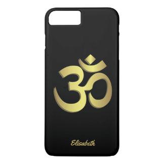 Coque iPhone 8 Plus/7 Plus Symbole de yoga de l'OM (Aum) Namaste