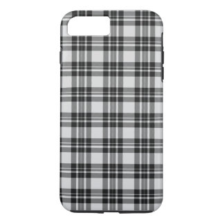Coque iPhone 8 Plus/7 Plus Tartan Phonecase de Black&white