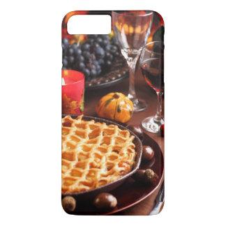 Coque iPhone 8 Plus/7 Plus Tarte aux pommes pour le thanksgiving