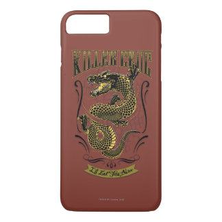 Coque iPhone 8 Plus/7 Plus Tatouage de Croc de tueur du peloton | de suicide