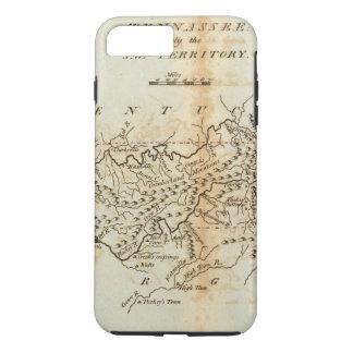 Coque iPhone 8 Plus/7 Plus Tennassee récemment le territoire du sud-ouest