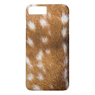 Coque iPhone 8 Plus/7 Plus Texture repérée de fourrure de cerfs communs