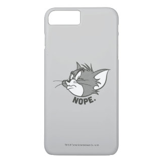 Coque iPhone 8 Plus/7 Plus Tom et Jerry | Tom dit Nope