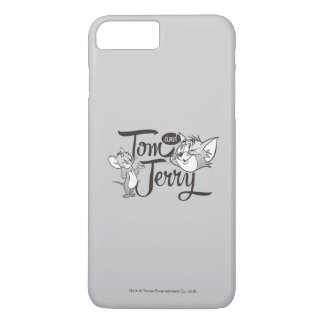 Coque iPhone 8 Plus/7 Plus Tom et Jerry | Tom et Jerry semblant doux