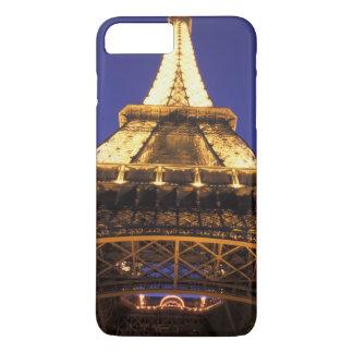Coque iPhone 8 Plus/7 Plus Tour Eiffel de la FRANCE, Paris, égalisant la vue