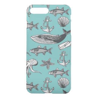 Coque iPhone 8 Plus/7 Plus Tout les motif de mer