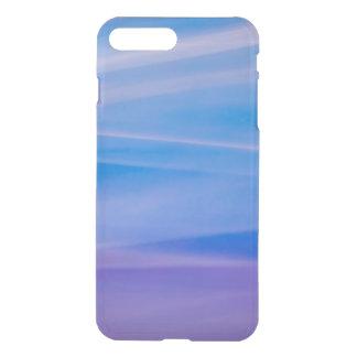 Coque iPhone 8 Plus/7 Plus Traînées légères de couleur d'abrégé sur peinture