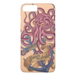Coque iPhone 8 Plus/7 Plus Tremblent mon poulpe Tatto de l'âme |