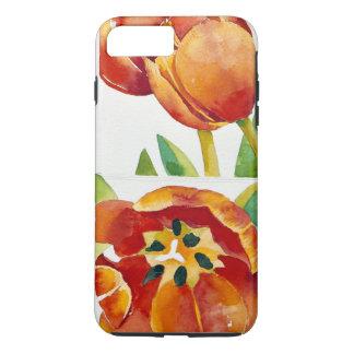 Coque iPhone 8 Plus/7 Plus Trois études de tulipe dans un 2013 sûr