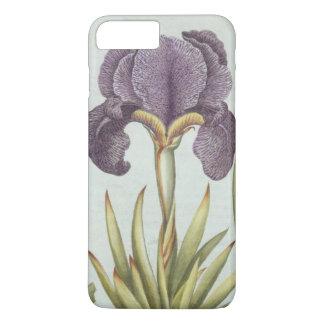 Coque iPhone 8 Plus/7 Plus Trois variétés d'iris imberbes de Rhizomatous