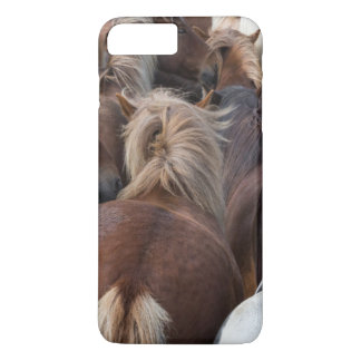 Coque iPhone 8 Plus/7 Plus Troupeau de cheval islandais