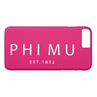 Coque iPhone 8 Plus/7 Plus Type moderne de la MU de phi