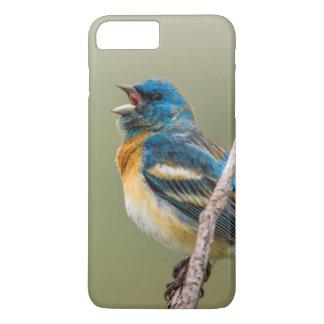 Coque iPhone 8 Plus/7 Plus Un chant masculin d'oiseau chanteur d'étamine de