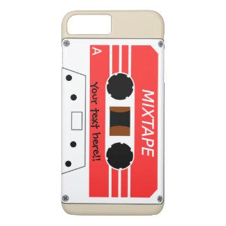 Coque iPhone 8 Plus/7 Plus Un enregistreur à cassettes stylisé