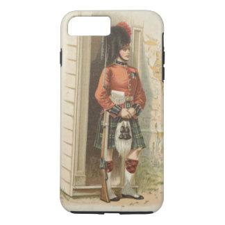Coque iPhone 8 Plus/7 Plus Un soldat écossais vintage