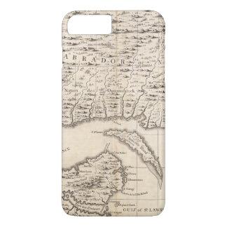 Coque iPhone 8 Plus/7 Plus Une carte de l'Empire Britannique en feuille 3 de