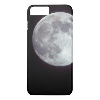 Coque iPhone 8 Plus/7 Plus Une pleine lune lumineuse dans un ciel nocturne