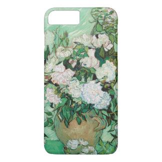 Coque iPhone 8 Plus/7 Plus Vase à Van Gogh avec la peinture florale de roses