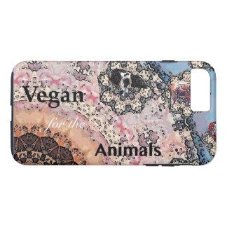Coque iPhone 8 Plus/7 Plus Végétalien pour les animaux