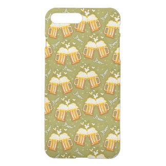 Coque iPhone 8 Plus/7 Plus Verres de motif de bière