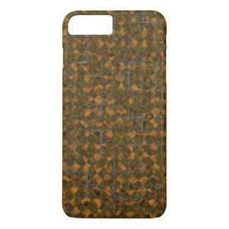 Coque iPhone 8 Plus/7 Plus Vert et caisse d'or