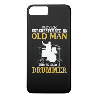 Coque iPhone 8 Plus/7 Plus Vieil homme - un batteur